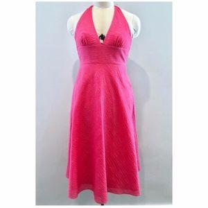 J. Crew Pink Halter Summer Dress Size 0